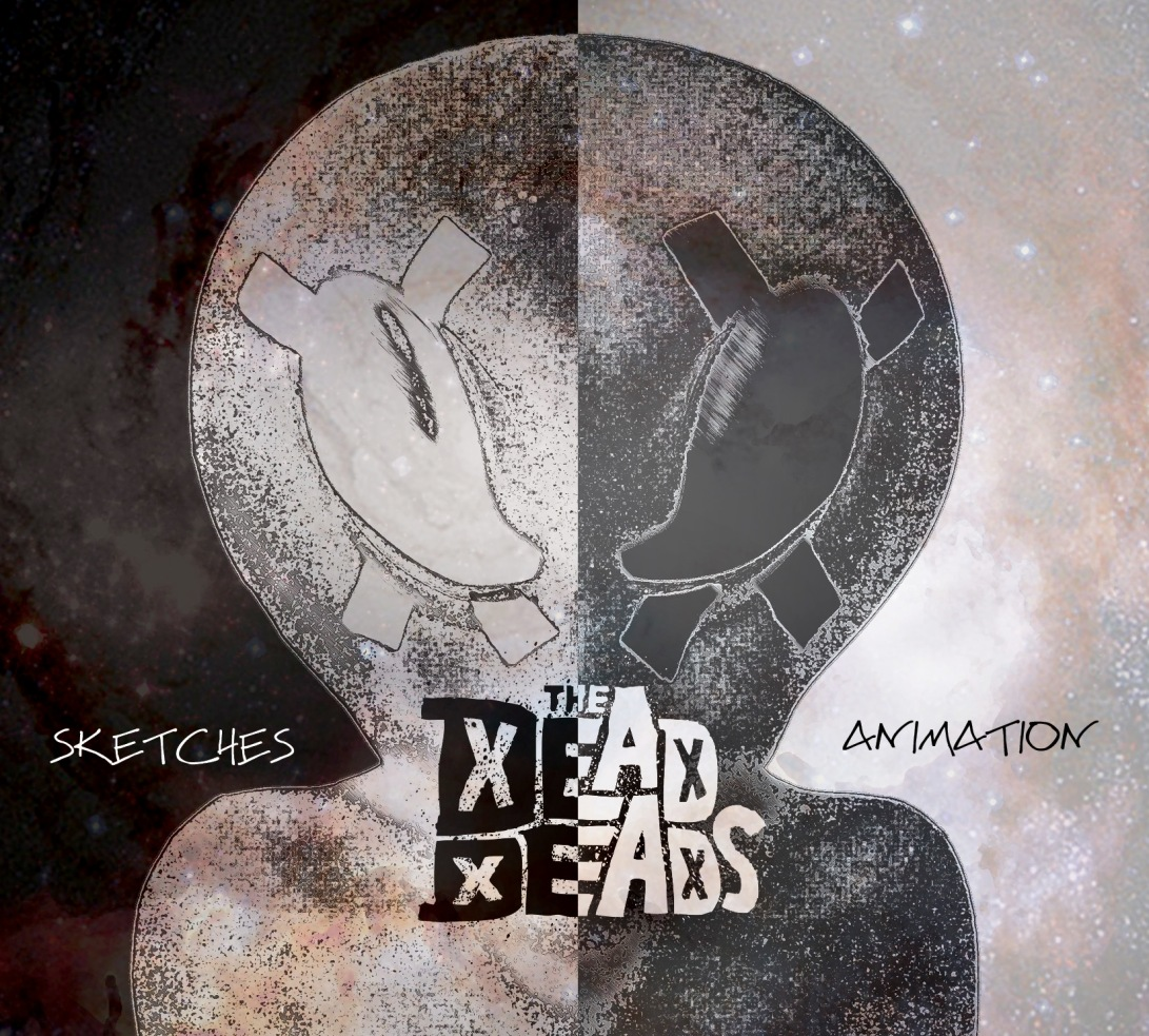 TheDeadDeads_SketchesAnimation_EP_CD_2018_Cover_FINAL_Space